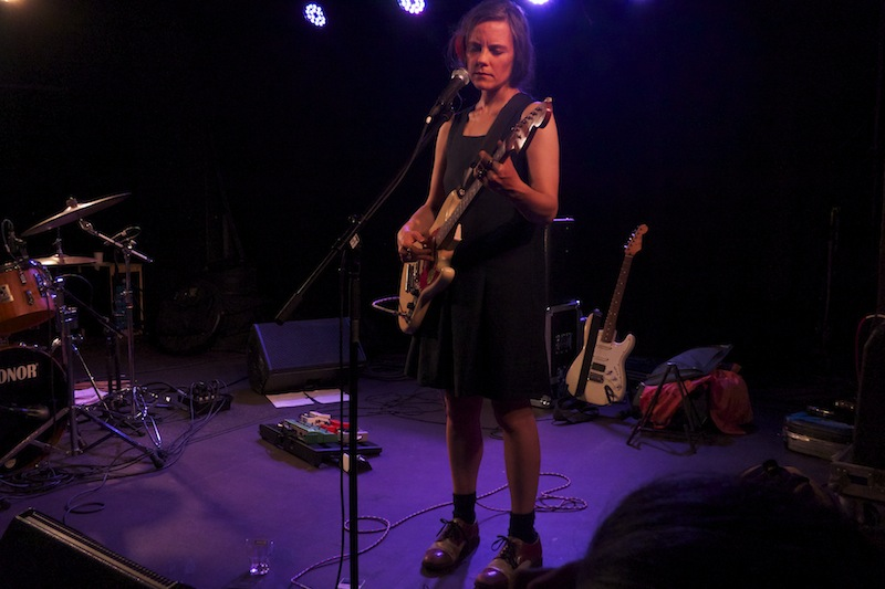 Scout Niblett, Performance in Munich, June 2013